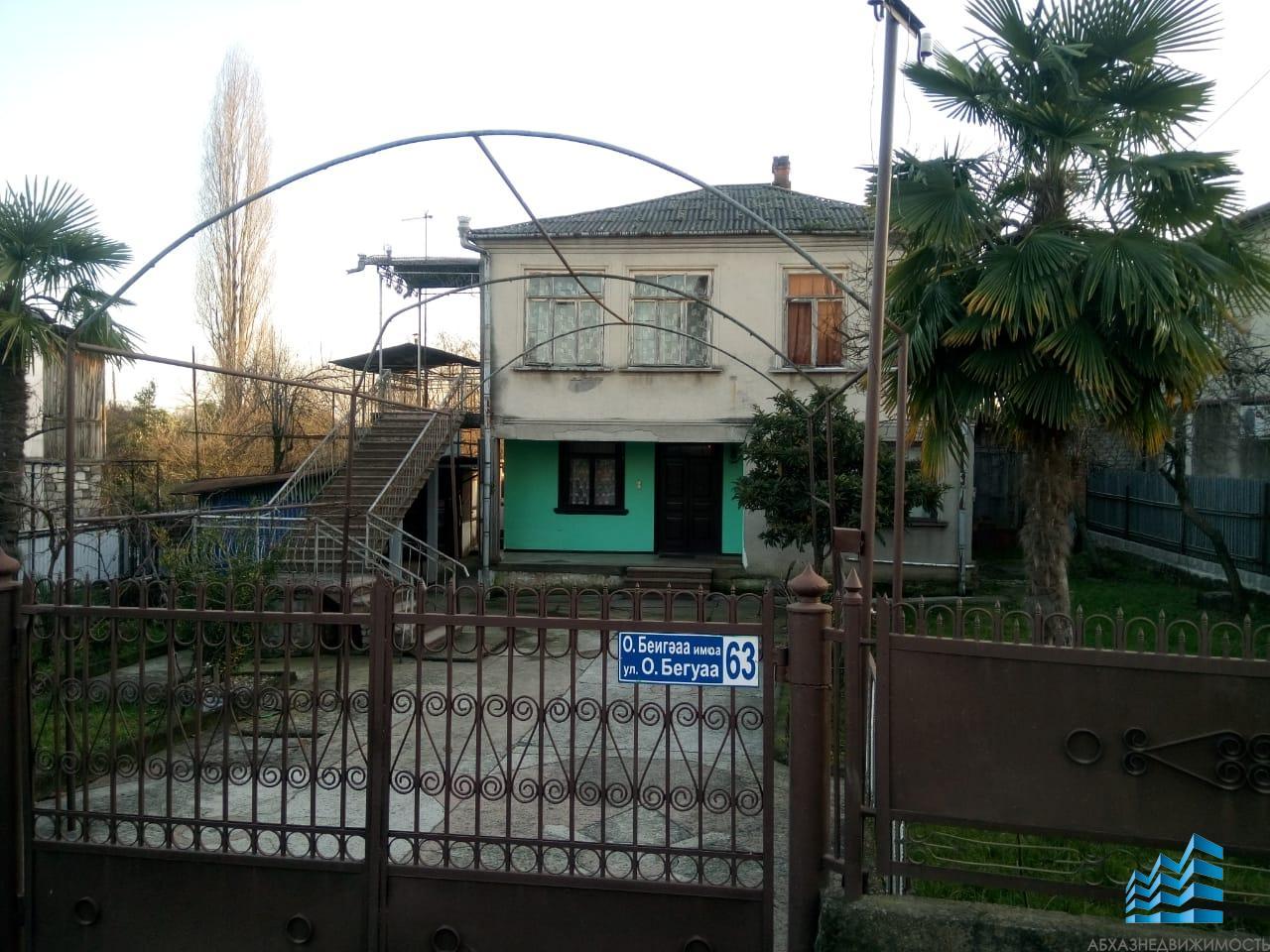 Дом в Сухуме, возможен обмен на квартиру с доплатой