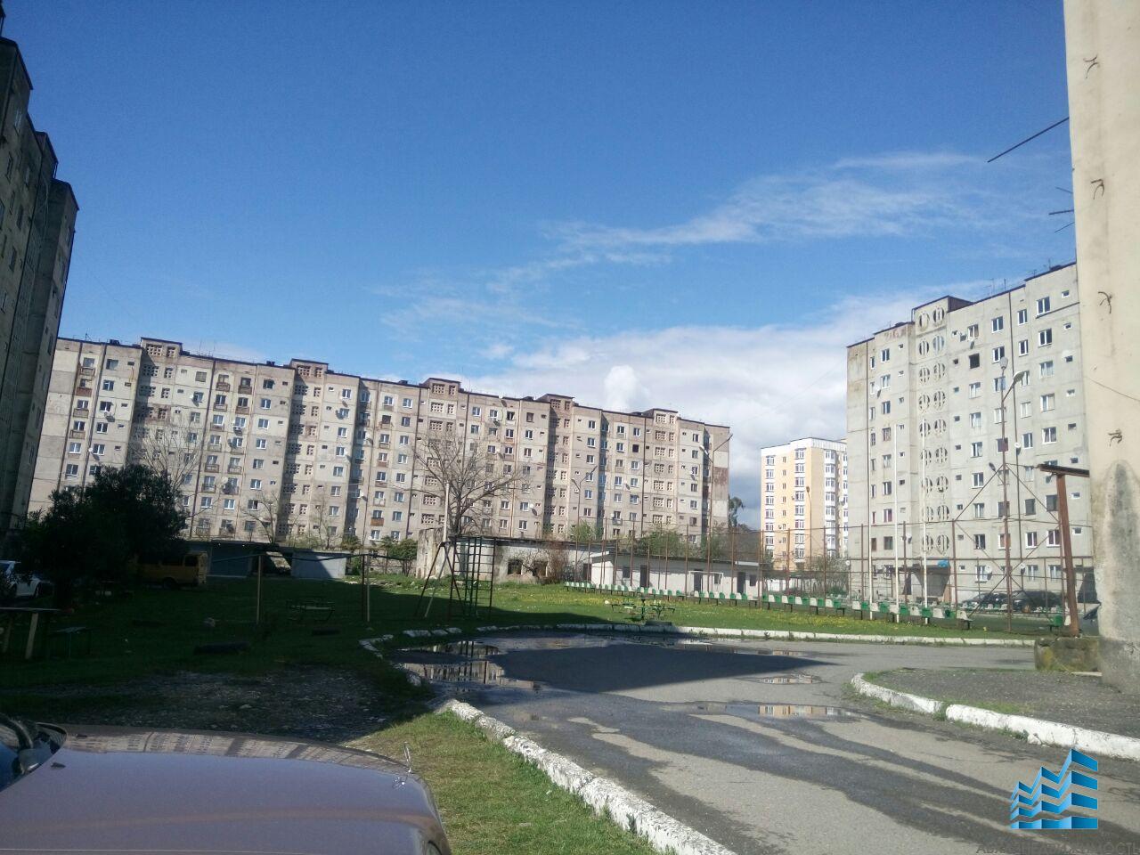2-комнатная квартира в центре Агудзеры, 8 этаж