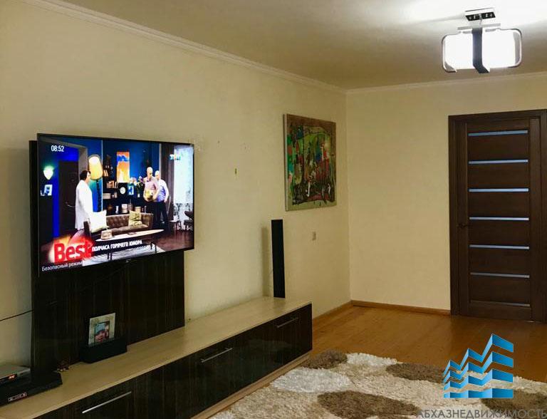 3-комнатная квартира с ремонтом и мебелью в Синопе