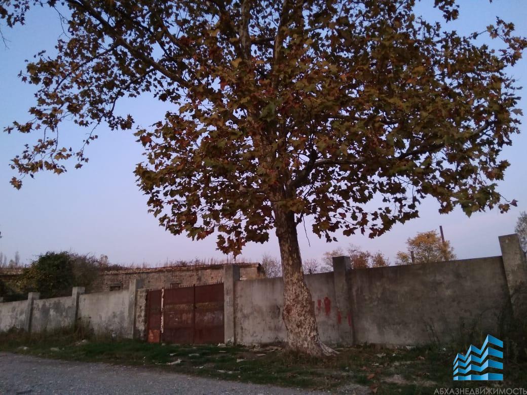 18 соток с блочным строением в Сухуме