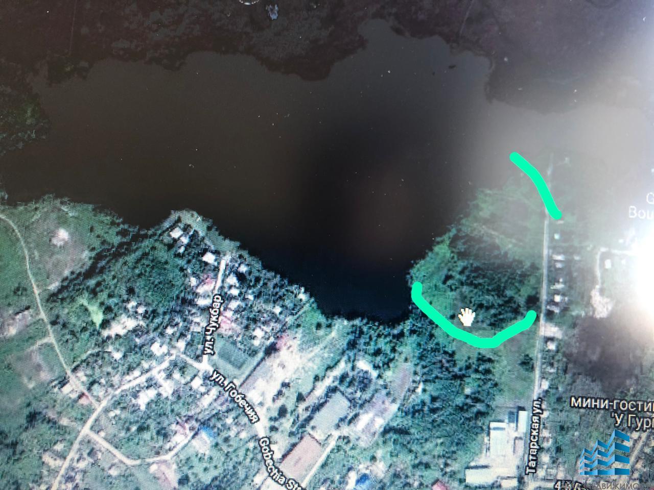Участок 3 га у озера
