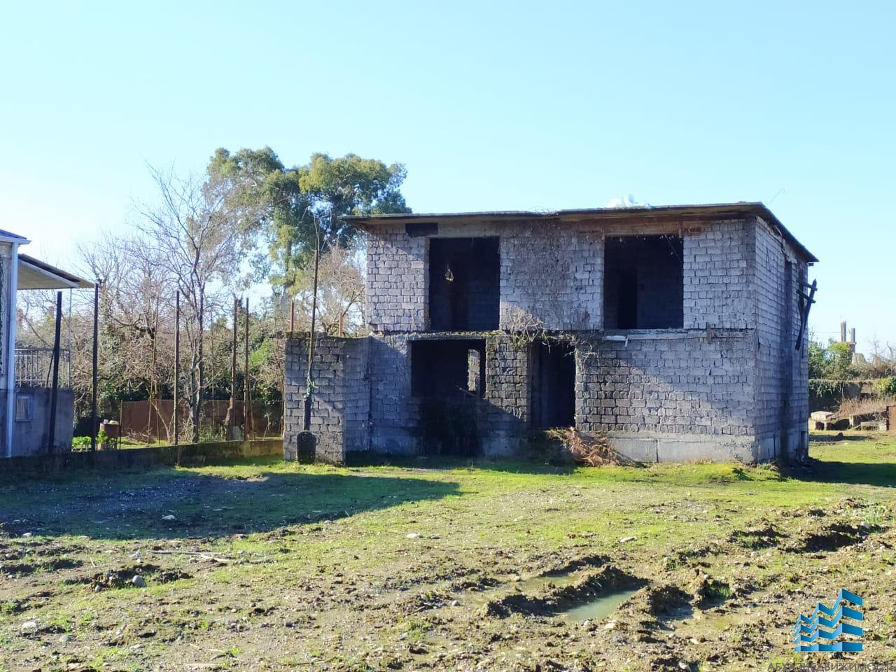 Каркас дома на участке 20 соток в Сухуме