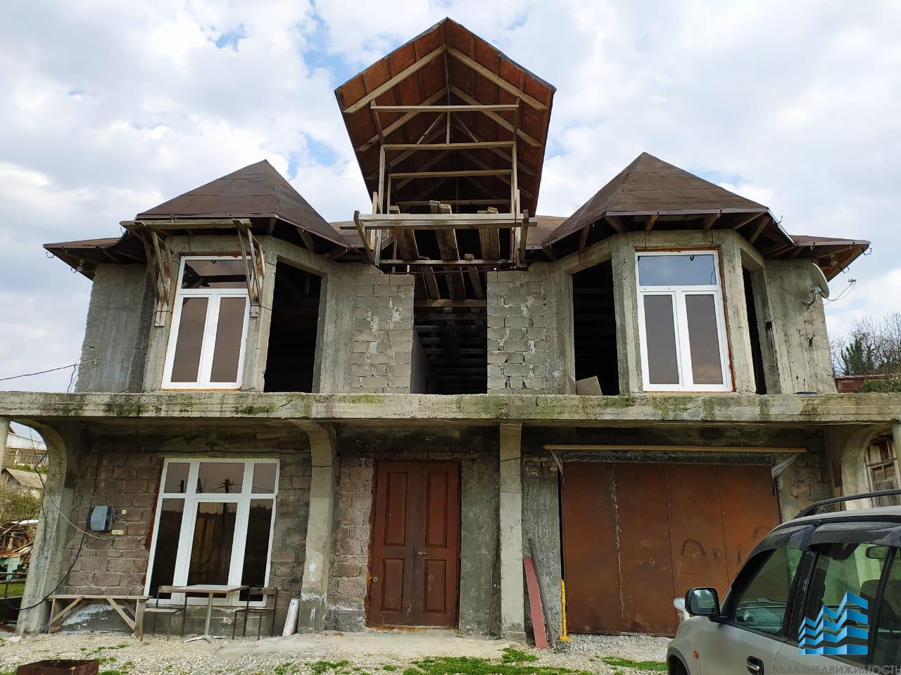 Новый дом в 15 минутах от Сухума
