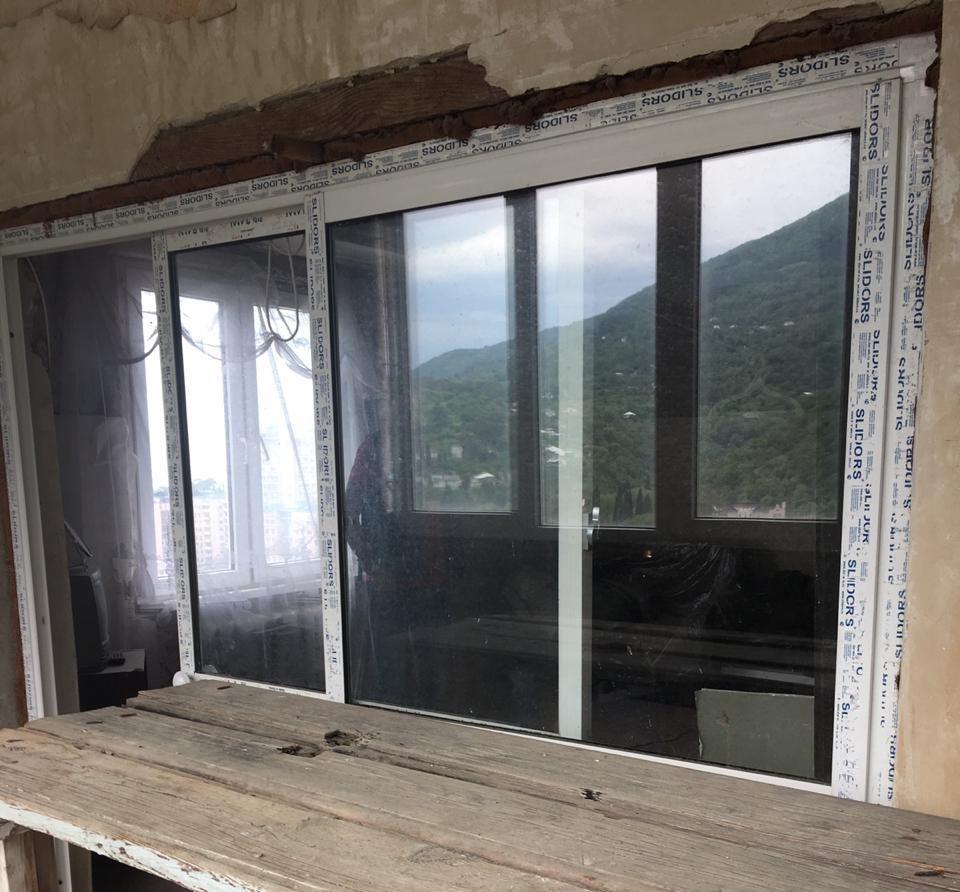 404. 3-комн квартира в центре Гагры