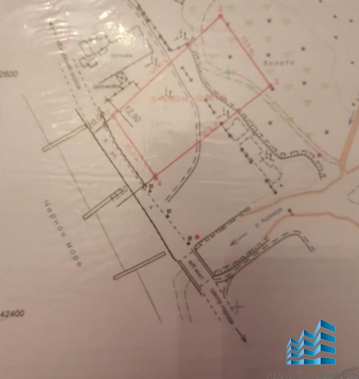 431. Земельный участок в г.Очамчира площадью 2 гектара