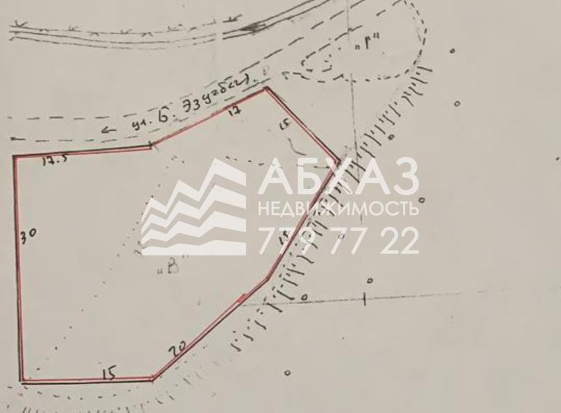 595. Земельный участок в Нижней Эшере